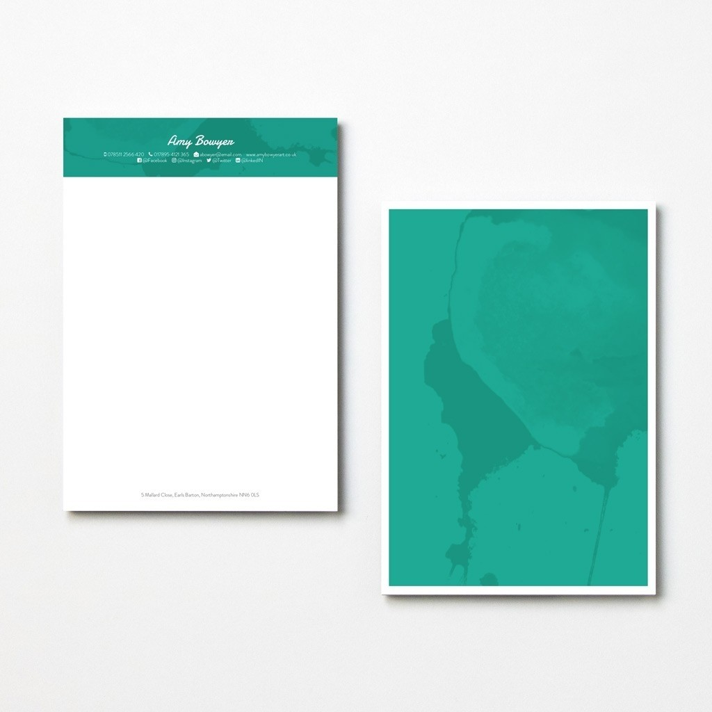 Contemporary Letterheads