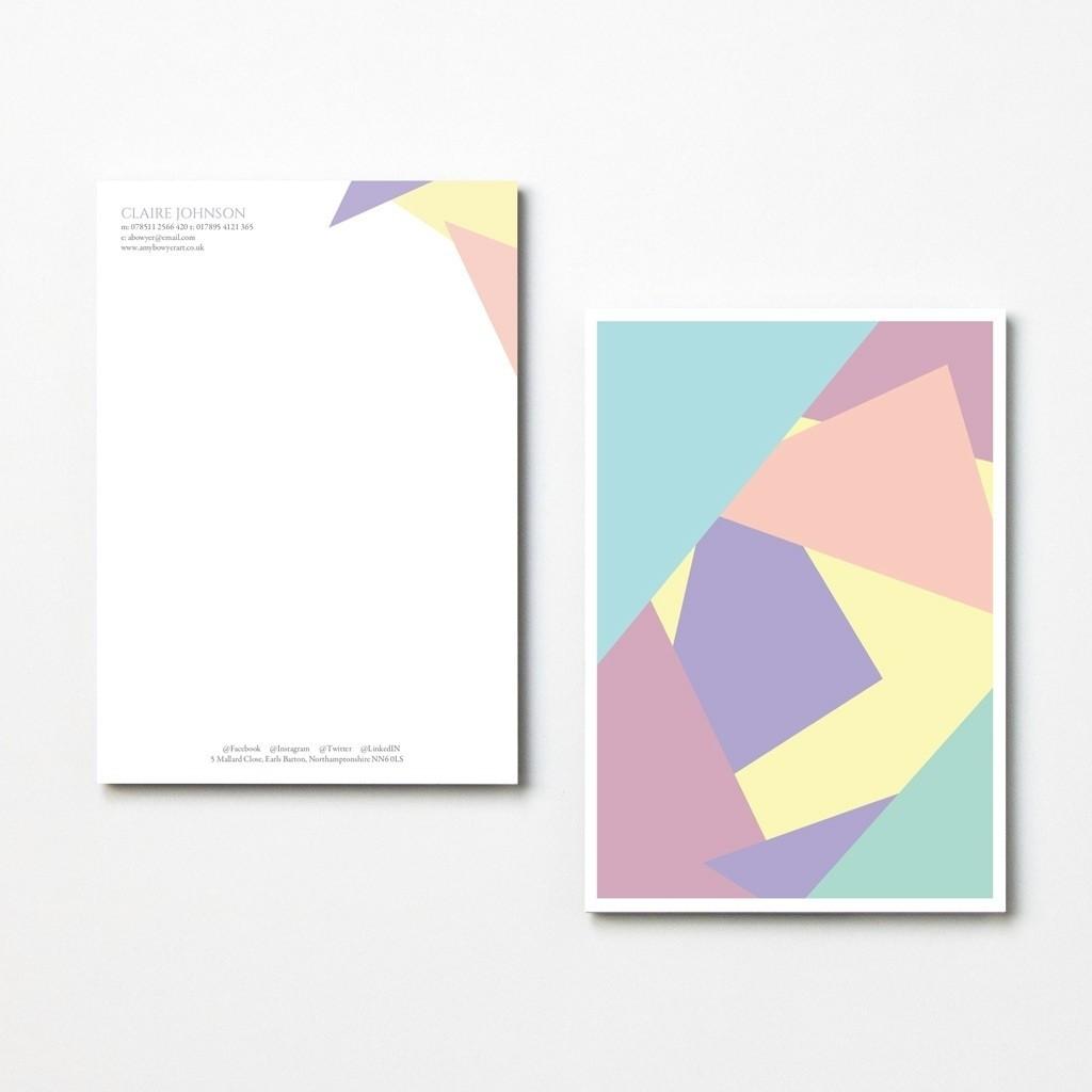 Pastel Letterheads