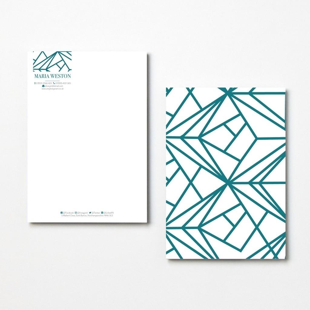 Geometric Letterheads