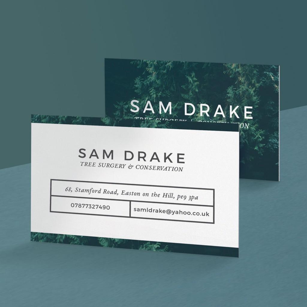 Upload A Design - Eco Business Cards