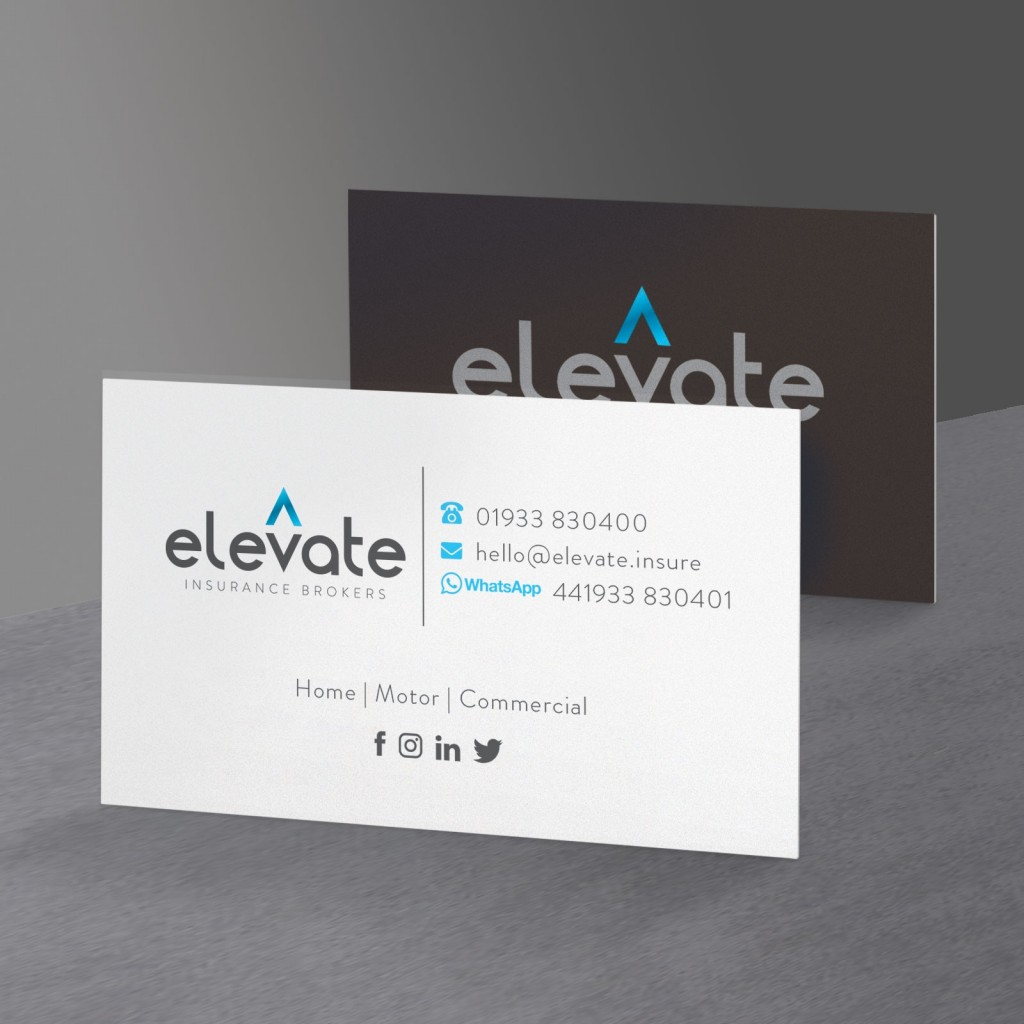 Upload A Design - Foiled Business Cards