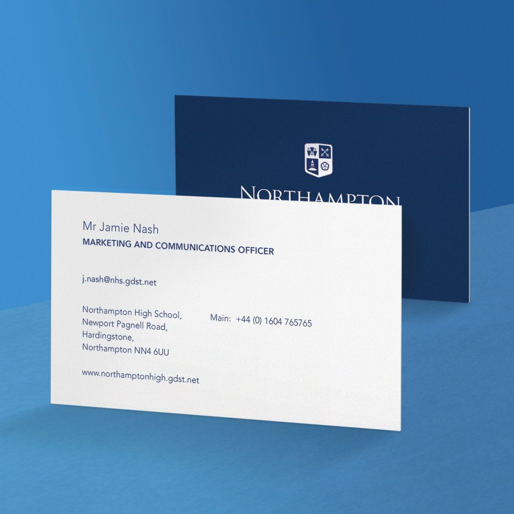 Upload A Design - Luxury Business Cards