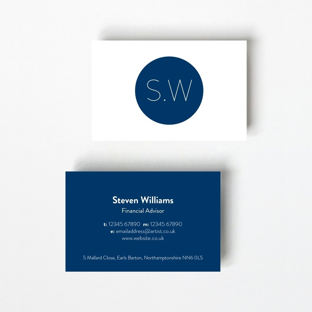 Monogram Design Business Card
