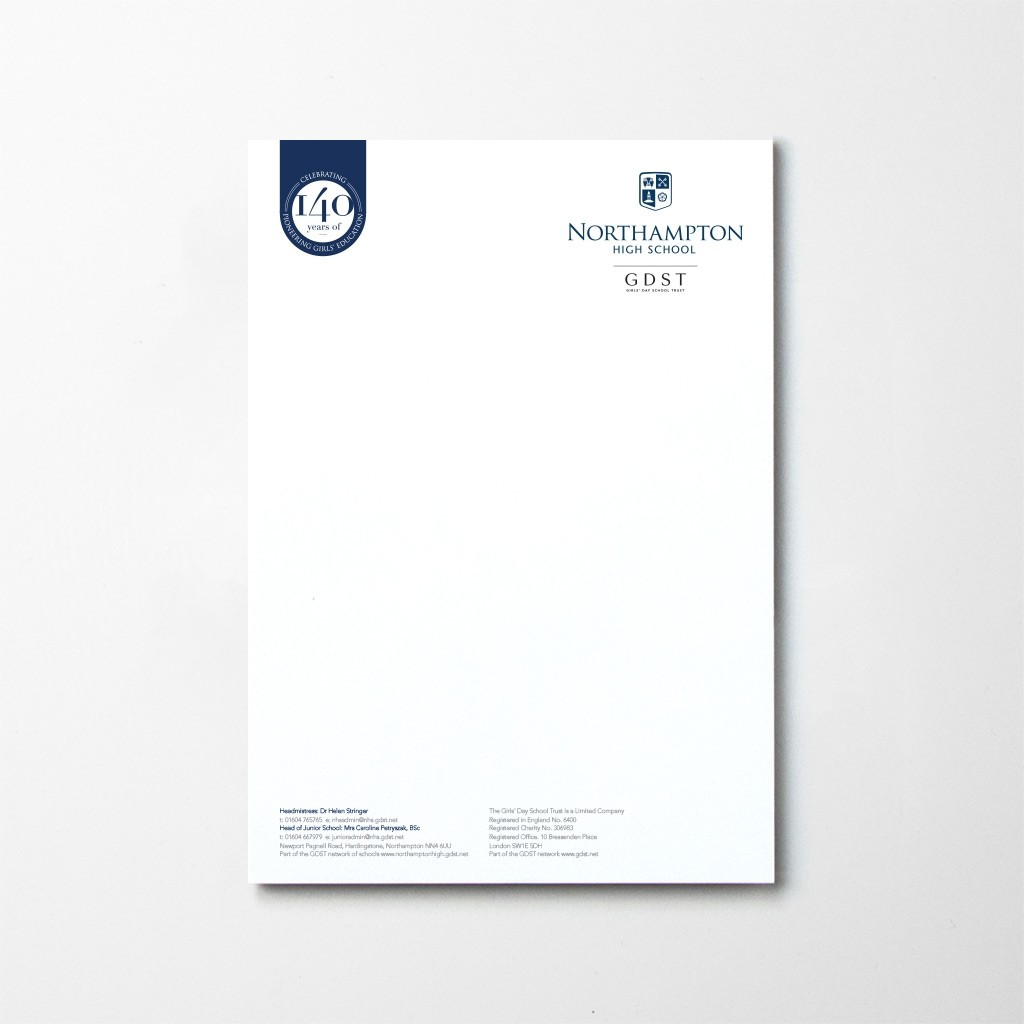 Upload A Design - Letterheads