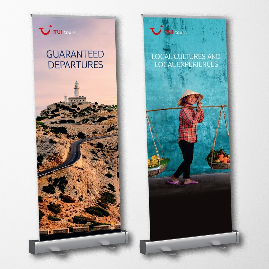 Upload A Design - Pull-Up Banner 850mm x 2000mm