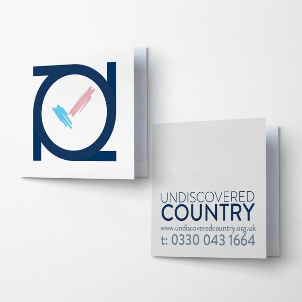 Upload A Design - 105mm x 105mm Folded Card