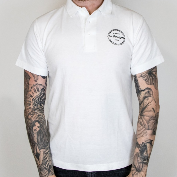 Upload A Design - Men's Polo Shirt (Embroidered)