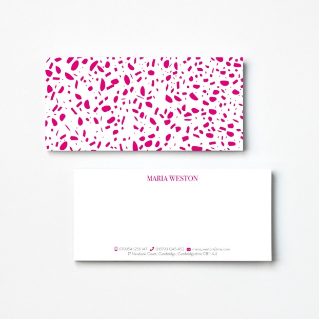 Speckled Compliment Slips