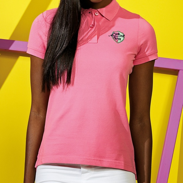 Upload A Design - Women's Polo Shirt (Embroidered)